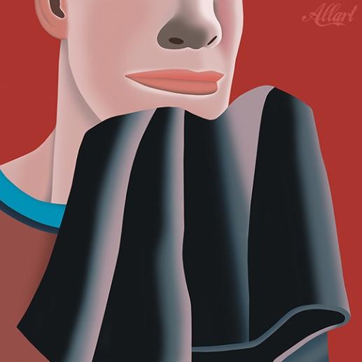 The boy / 150x120 / acryl / 1998 / Jeroen Allart