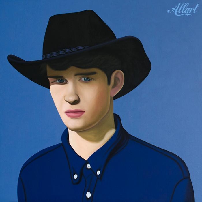 Cowboy Sep / 100x100 / oil / Jeroen Allart / 2019