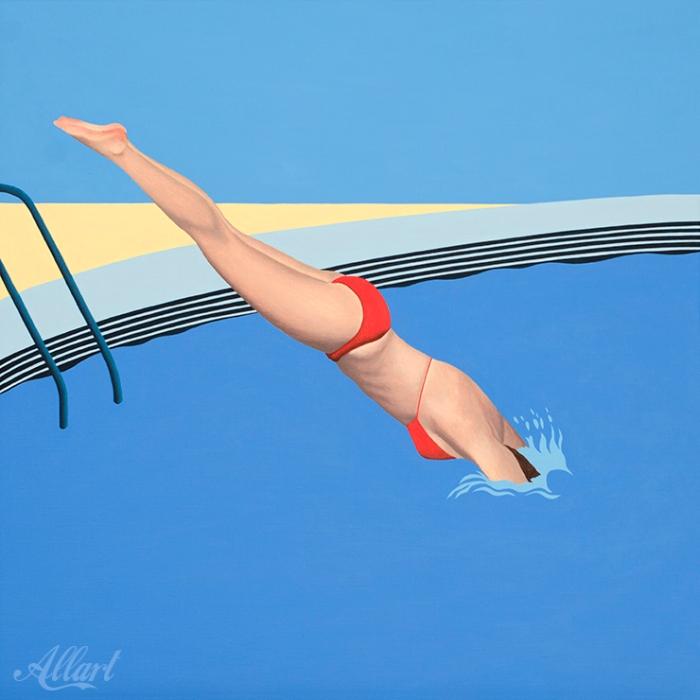 duiker-60x60cm-acryl-jeroen-allart-2020