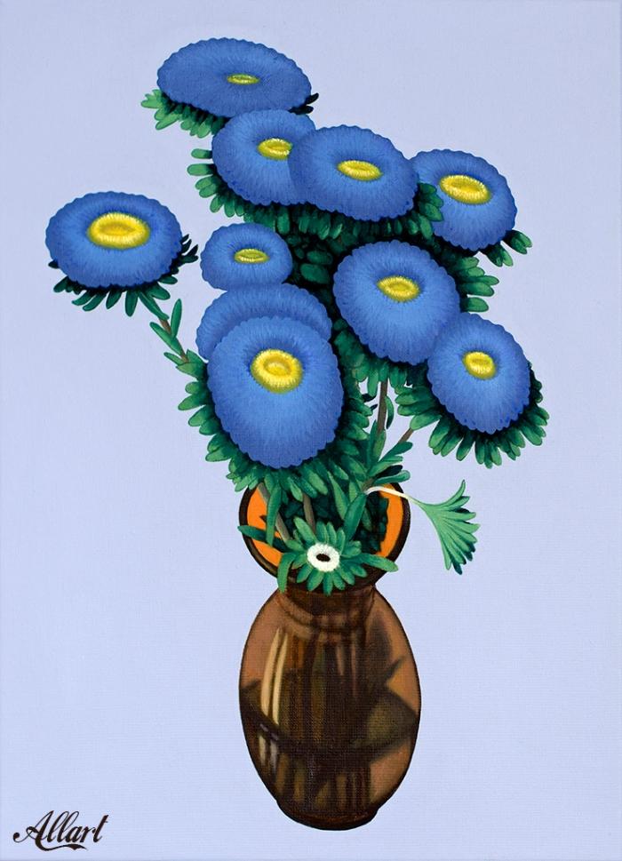 Flowers/ 50x40cm / oil / © Jeroen Allart / 2020