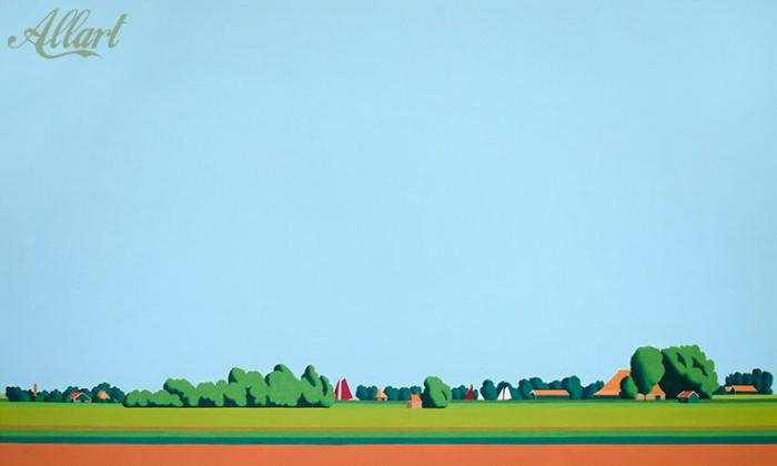 Friesland / 100x60cm / oil / © Jeroen Allart / 2020
