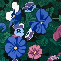 Flowers / 100x100cm / oil / © Jeroen Allart / 2020